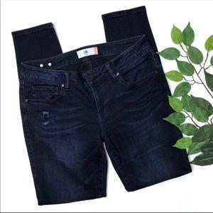 CAbi Dusk Destructed Skinny Jeans #3193